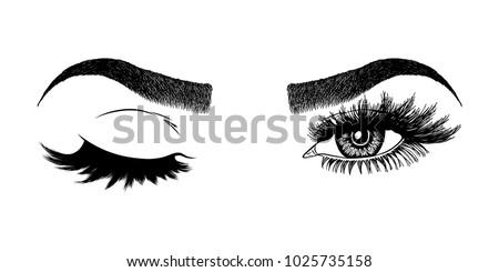 Makeup Beauty Salon Rose Glitter Flyer Browns Lash 25 ...