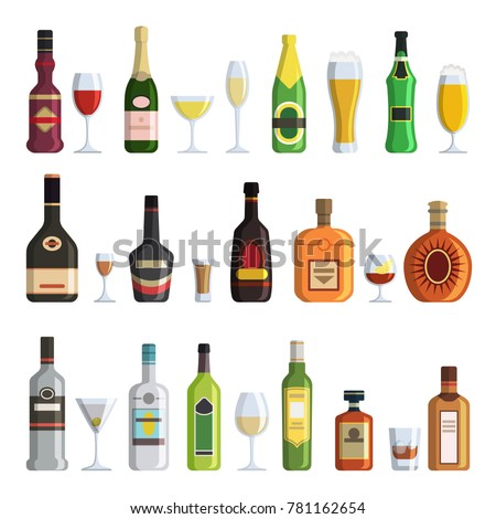 illustrations of alcoholic