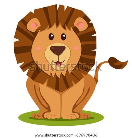 illustrator of lion