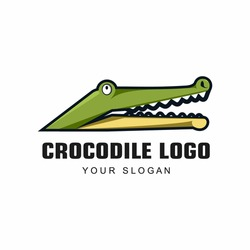 Ilustration vector graphic of Crocodile Logo