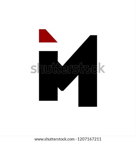 im, mi, in, ni, inm, imn initials company logo  Zdjęcia stock ©