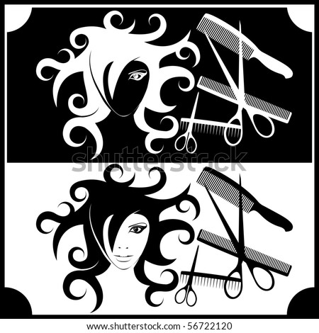 image for the interior hairdressing and beauty salons