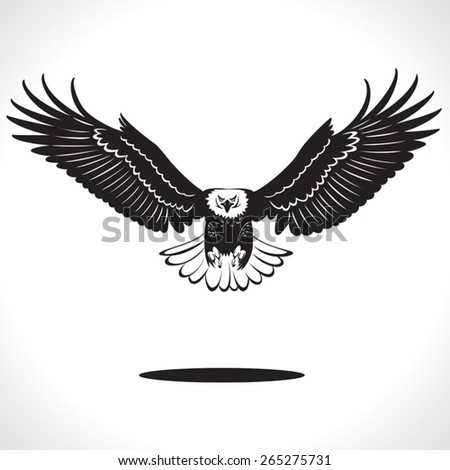 image graphic style of eagle