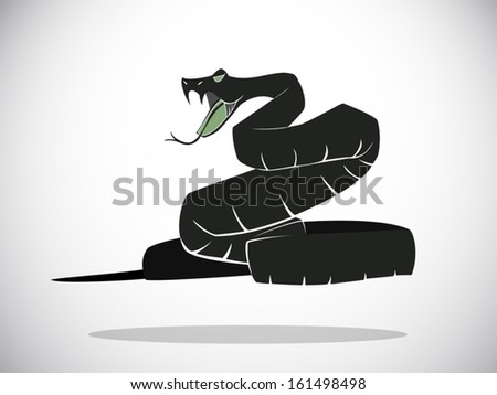 image graphic vector style of snake