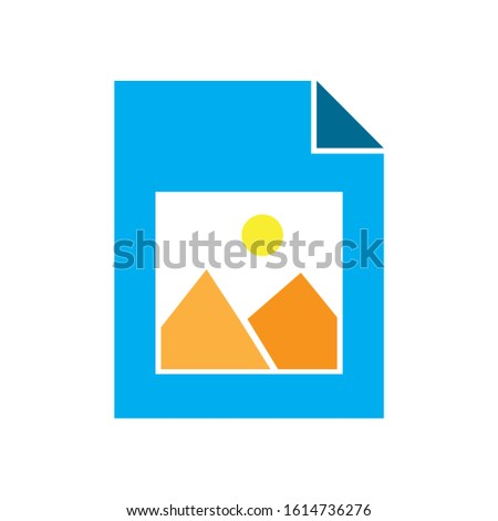 image icon. flat illustration of image vector icon. image sign symbol