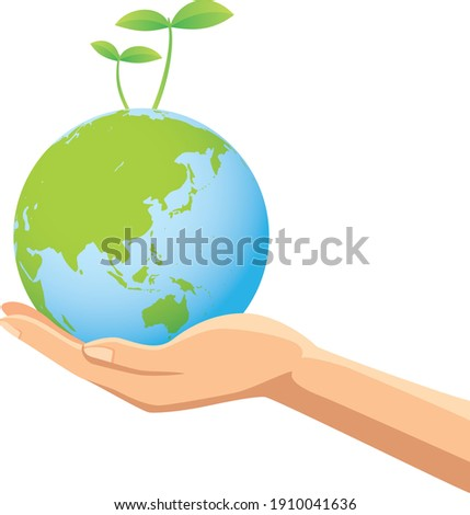 image illustration of a hand