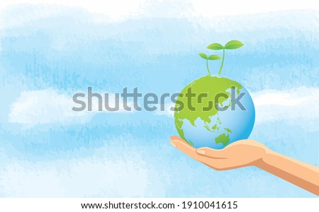 image illustration of hand and