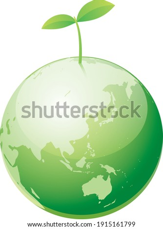 image illustration of the earth