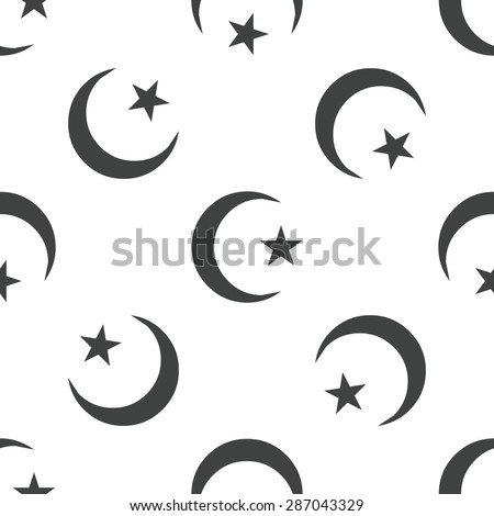 image of crescent moon and one