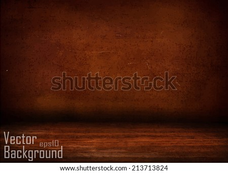 image of grunge dark room