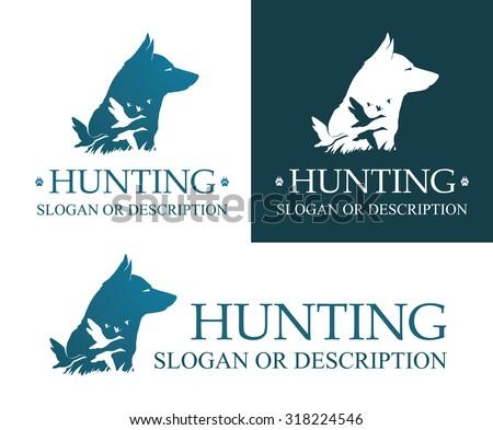 image of hunting dog and ducks