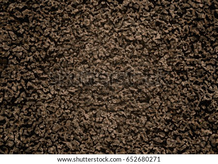 image of soil texture overhead