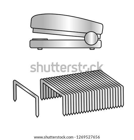 image of staples and stapler