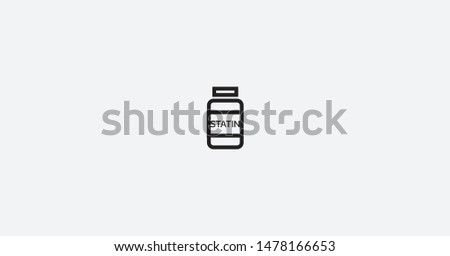 Image of Statin Illustration Vector