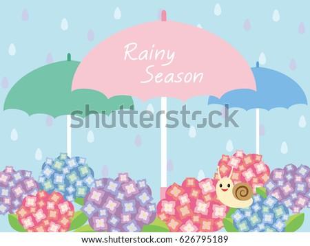 image of the rainy season