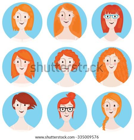image showing 9 young women