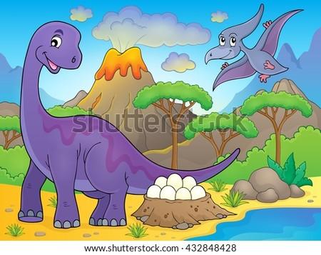 image with dinosaur thematics 2