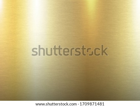 Imitation metal, brushed gold texture, copper luster, bronze tint, vector background