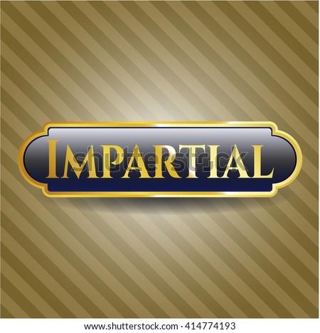 Impartial shiny emblem