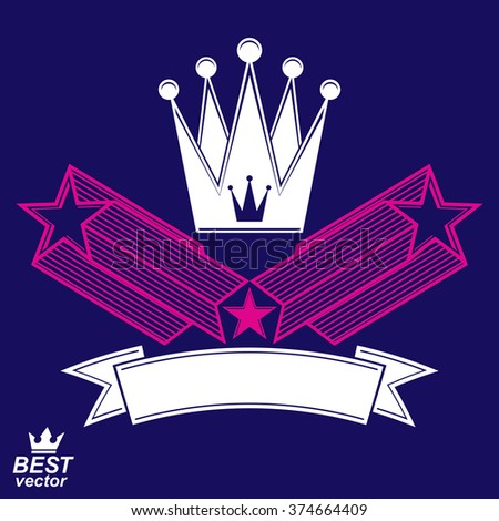 imperial stylized vector symbol