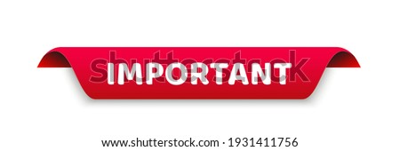 Important for banner design. Info sign, information icon. Business concept. Attention please. Vector stock illustration. Photo stock ©