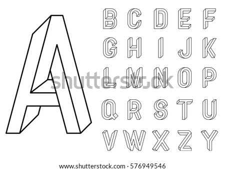 impossible geometry letters et