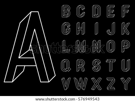 impossible geometry letters