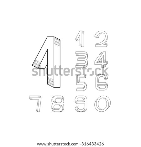 impossible numerals set from 0