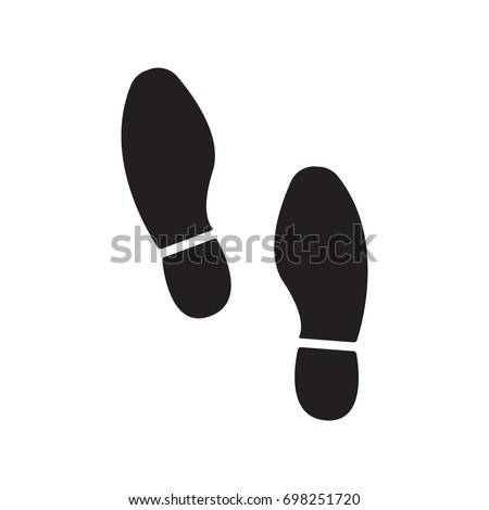 imprint soles shoes vector