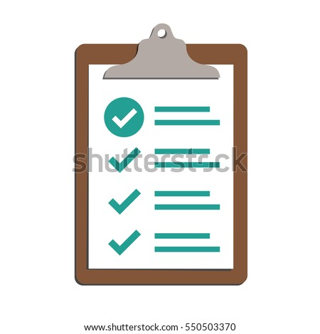 In compliance - graphic that shows the company passed inspection Foto stock ©