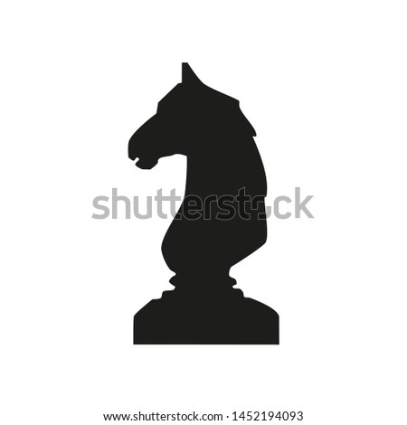 In the figure, the figure is a figure of a shaky horse, a horse symbol of wisdom, a correct decision, a goal, a movement to a dream. The figure for infographics, for business, project, completion