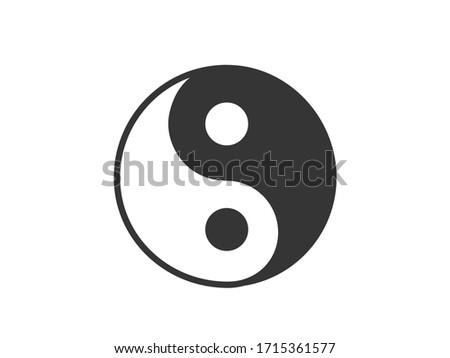 In Yang icon. In yang vector illustration.  Stock photo ©