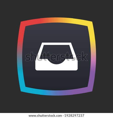 Inbox - App Icon Button