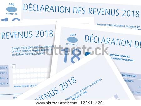 Income Tax Return Déclaration de Revenus means Income tax return