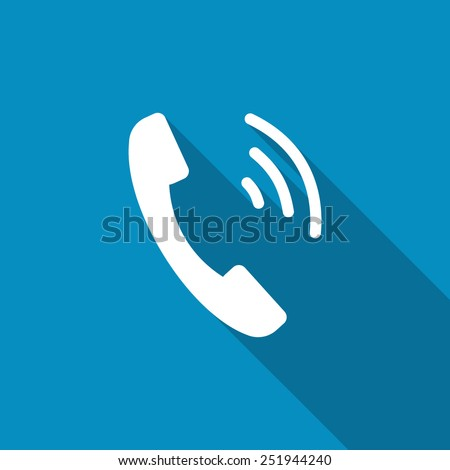 Incoming call icon. Active Phone call. Dial. Telephone ring icon