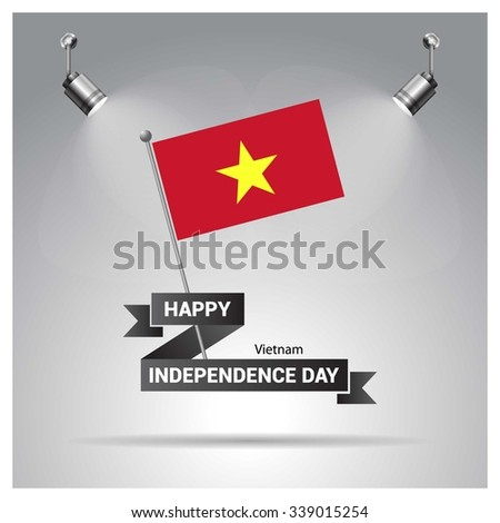independence day poster ribbon