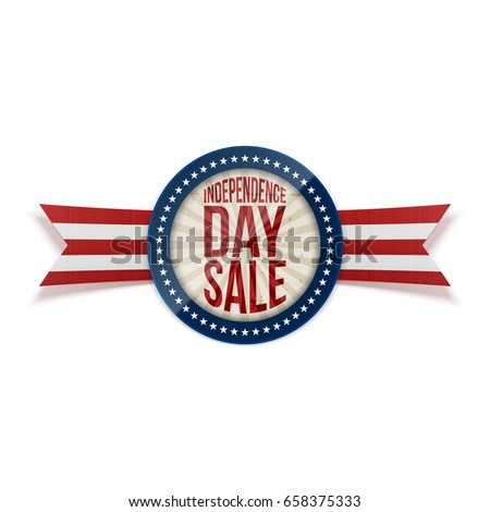 Shutterstock Independence Day Sale circle Banner