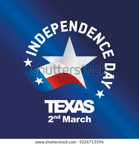 independence day texas flag