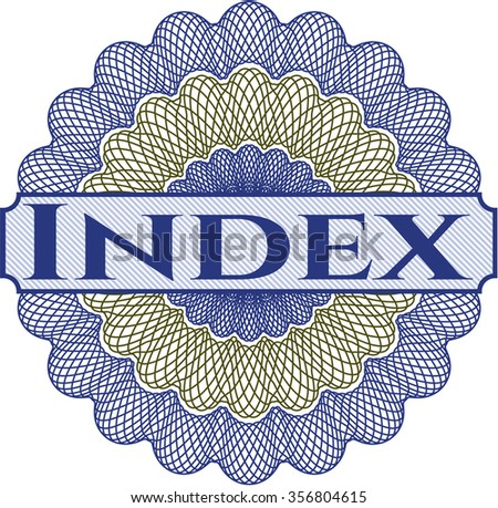 Index linear rosette