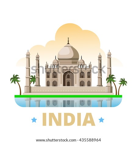 india country magnet design