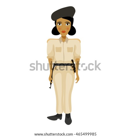india young policemen woman