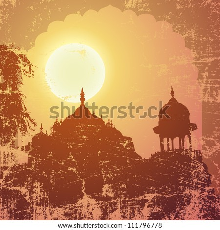 indian arch and architecture at