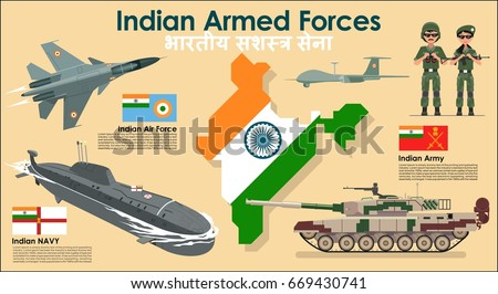 indian armed forces set poster