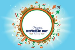 Indian army parade, Indian Republic day concept background 26 January, people, fighter jet, India get parade, army saluting celebrating  and remembering the freedom fighters creative concept ideas