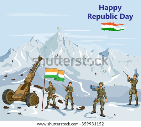 indian army showing victory of