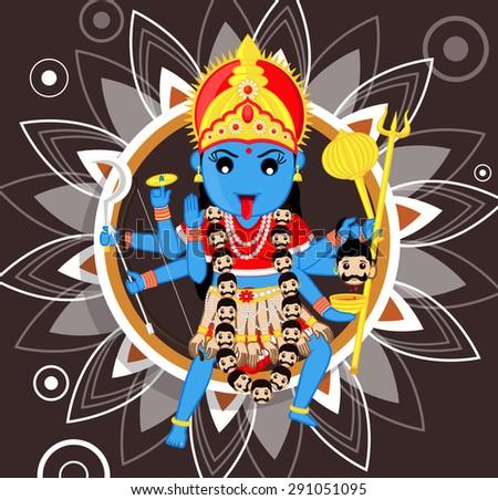 indian deity   maa kali