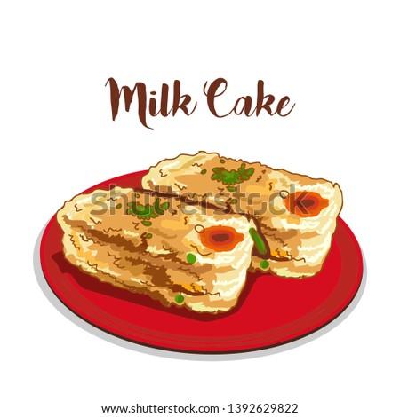 indian dessert or sweets milk