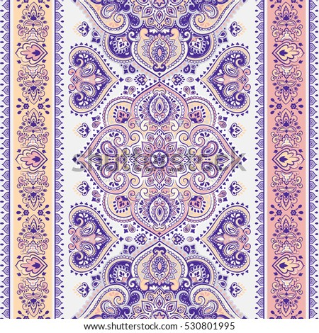 indian floral paisley medallion