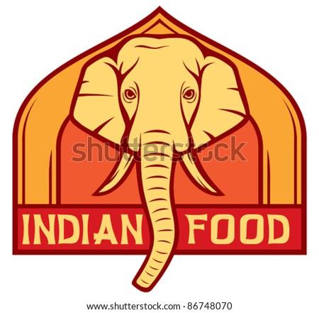 indian food label (design)