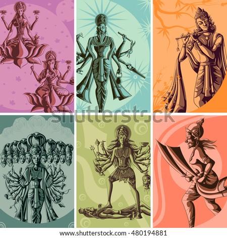 indian god and goddess